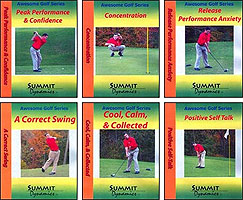 professional golf self hypnosis cd's